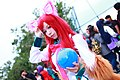 Cosplayer of Ahri, League of Legends at CWT41 20151212d.jpg