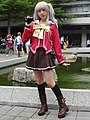 Cosplayer of Nao Tomori, Charlotte 20180825a.jpg