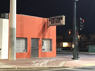 Cowtown Guitars - Image: Cowtown on Commerce
