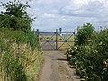 Crash gates, Edinburgh Airport. - geograph.org.uk - 33072.jpg