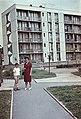 Családi fotó 1966, a Stadion utca egyik háza előtt. Fortepan 76642.jpg