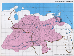 A map of Orinoco's watershed by the Venezuelan government (in Spanish)