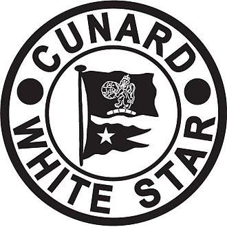 SS Doric (1922) - Image: Cunard White Star Line Logo