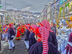 Longs-Nés, Longuès-Brèsses et Boldjî le dimanche du Carnaval.