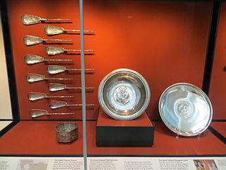 Byzantine silver hoard