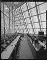DETAIL VIEW OF OPERATIONS SUPPORT ROOM, FIRING ROOM NO. 4, FACING NORTH - Cape Canaveral Air Force Station, Launch Complex 39, Launch Control Center, LCC Road, East of Kennedy HAER FL-8-11-A-44.tif