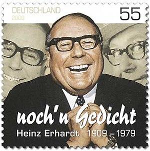 Heinz Erhardt - Deutsche Post stamp, 2009
