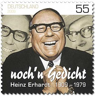 Heinz Erhardt German entertainer