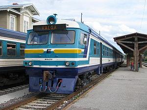 Edelaraudtee - Image: DR1BJ 2709 Tartu