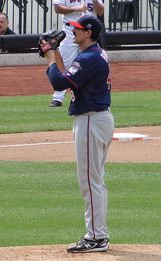 Carl Pavano - Pavano with the Minnesota Twins