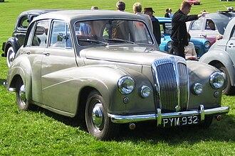 Daimler Conquest - 1955 DJ256 Conquest Century (Mark I)