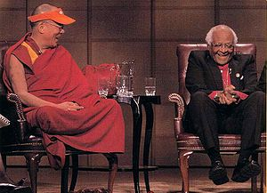 The 14th Dalai Lama and Bishop Desmond Tutu, 2004