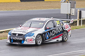 Dale Wood (racing driver) - Wood placed 24th in the 2014 V8 Supercars Championship driving a Holden VF Commodore