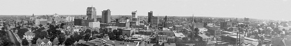 Dallas skyline, 1912