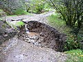 Damage to the byway - geograph.org.uk - 1000264.jpg