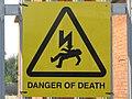 Danger of Death - geograph.org.uk - 1503488.jpg