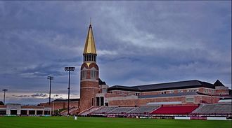 Denver Pioneers men's ice hockey - The Ritchie Center is home to many DU Pioneers athletics programs