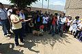 Danmnificado de Jicamarca reciben donación de congresistas de Solidaridad Nacional (6892676860).jpg