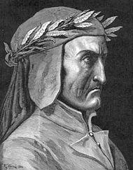 Dante Aligheri, gravură de Gustave Doré.