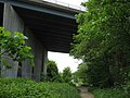 Darent Valley Path under M20 Motorway - geograph.org.uk - 1302655.jpg