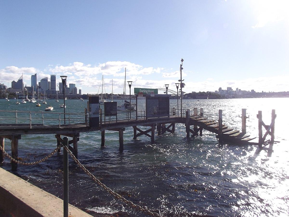 Double Bay Wharf The Island