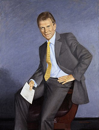 Tom Daschle - Official Senate portrait by Aaron Shikler