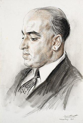 David Maxwell Fyfe, Nuremberg, 1946 (Art. IWM ART LD 5863).jpg