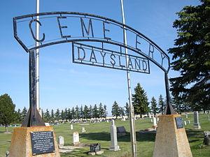 Daysland - Image: Daysland Cemetery