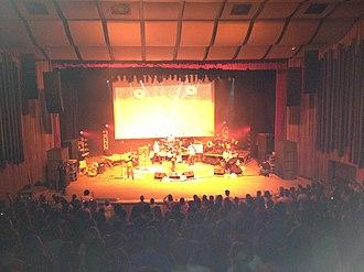 Dazaranha - Dazaranha performing live in Florianópolis, in December 2012.