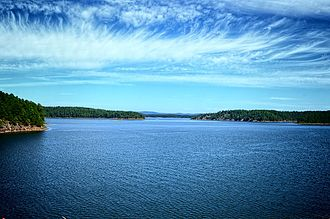 Hot Spring County, Arkansas - DeGray Lake