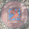 Decorative Tile with Bird in Squircle at Visitor Center.jpg