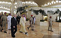 Defense.gov News Photo 110406-F-DQ383-006 - Secretary of Defense Robert M. Gates walks with Saudi Arabian Prince Khalid bin Sultan after arriving at King Khalid International Airport in.jpg