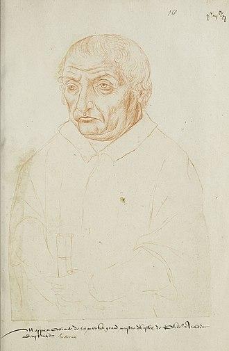 Olivier de la Marche - Contemporary drawing of de la Marche