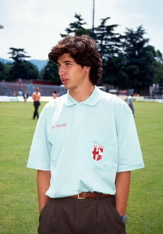 Demetrio Albertini - A young Albertini during his time with Padova
