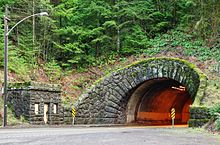 Dennis L. Edwards Tunnel west entrance - Oregon.JPG