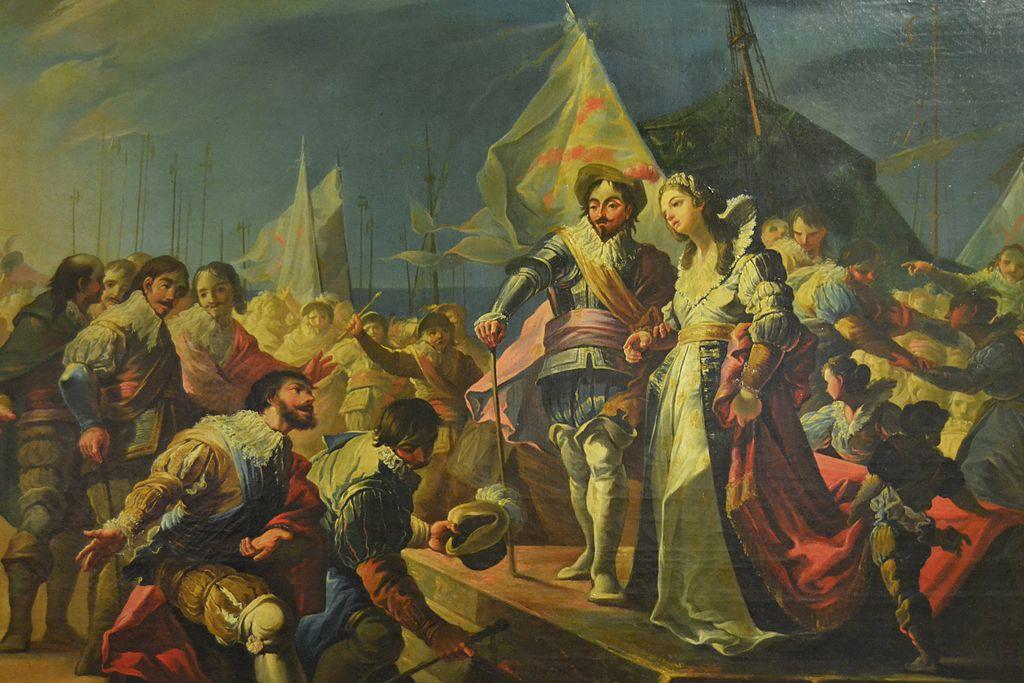 Desembarco en Valencia de Fernando el Católico y Germana de Foix