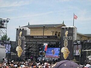 Live 8 concert, Philadelphia - Destiny's Child at Live 8