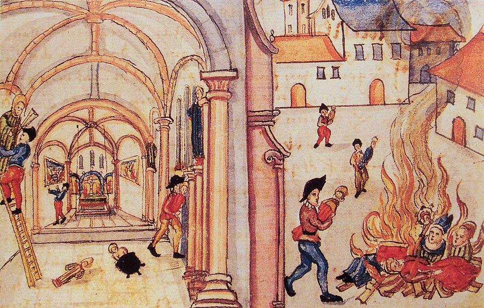 Destruction of icons in Zurich 1524