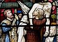 Detail, Stained glass window, All saints' church, Upton cum Kexby (18002400270).jpg