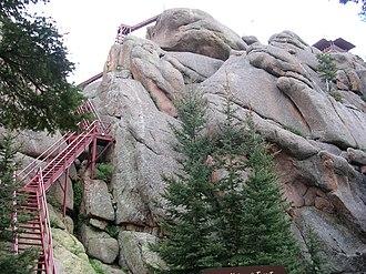 Devil's Head Lookout - Image: Devil's Head Stairs
