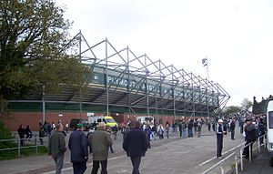 Plymouth Argyle F.C. - Outside view of the Devonport Stand