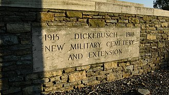 Dickebusch New Military Commonwealth War Graves Commission Cemetery and Extension - Dickebusch New Military Cemetery and Extension