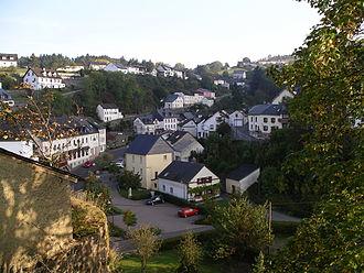 Dasburg - Image: Die Ortschaft Dasburg