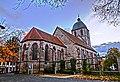Die ev. luth. Pfarrkirche St. Albani ist eine dreischiffige gotische Hallenkirche in Göttingen. - panoramio.jpg