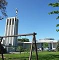 Die katholische St.-Lioba-Kirche wurde zwischen 1960 und 1961 errichtet. - panoramio.jpg