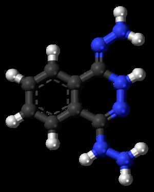 Dihydralazine - Image: Dihydralazine 3D balls