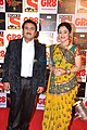 Dilip Joshi and Disha Vakani at SAB Ke Satrangi Parivaar Awards.jpg