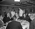 Diner Buitenlandse Persvereniging aan de Westerdam. Toespraak Minister Stikker, Bestanddeelnr 903-7953.jpg