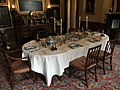 Dining table, National Trust for Scotland, Georgian House, Edinburgh.jpg