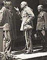 Dino Grandi, August Zaleski, Józef Piłsudski, Feliks Kamiński (1930).JPG